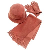 Polyester Glove/Hat/Scarf Set